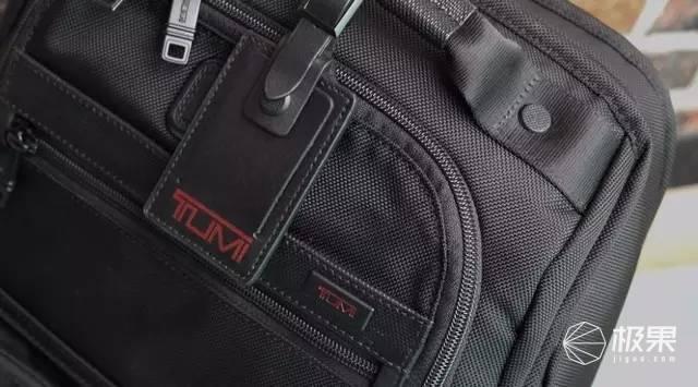 TUMI/塔米Alpha系列男士商务手拎斜跨电脑包96114黑色横款